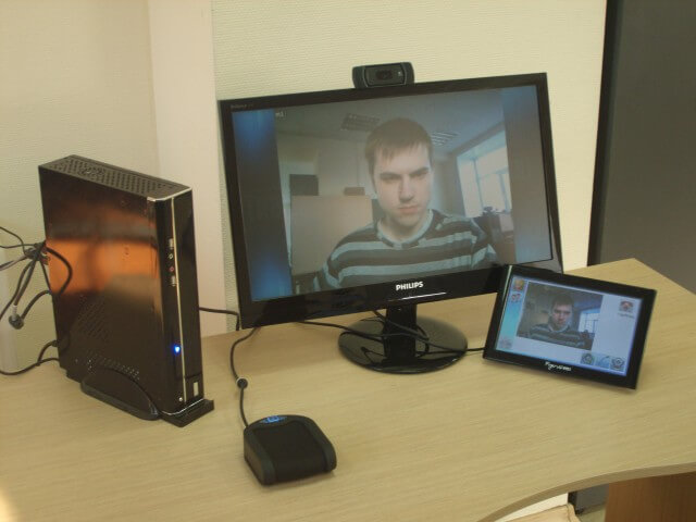 Аппаратная система видеоконференции 1