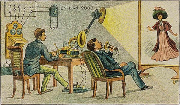 Как представляли видеоконференцсвязь в старину