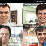 Групповая видеоконференция на Android