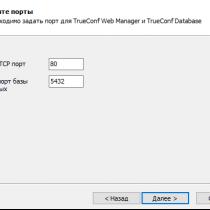Какие порты используются при работе TrueConf Server