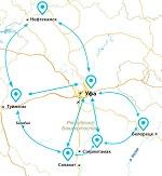 Схема взаимодействия таможеннных постов