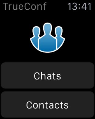 Больше возможностей с TrueConf для Apple Watch 1