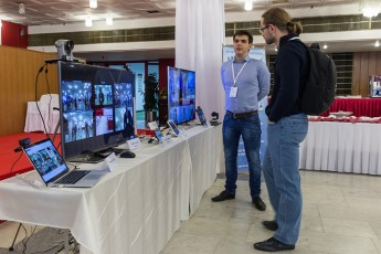TrueConf на Видео+Конференции 2015 2