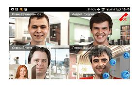 Показ контента в мобильных приложениях TrueConf для Android и iOS 6