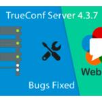 Вышло обновление для TrueConf Server 4.3.7