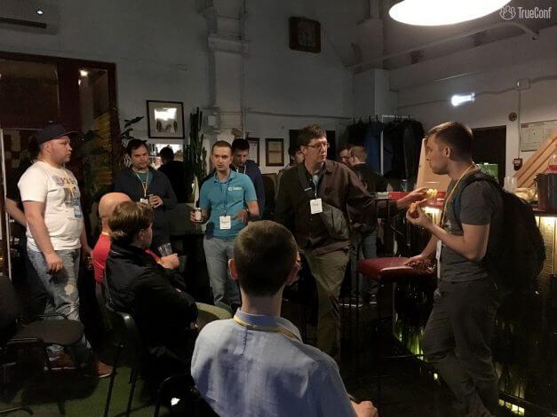 TrueConf поддержал митап по WebRTC 11