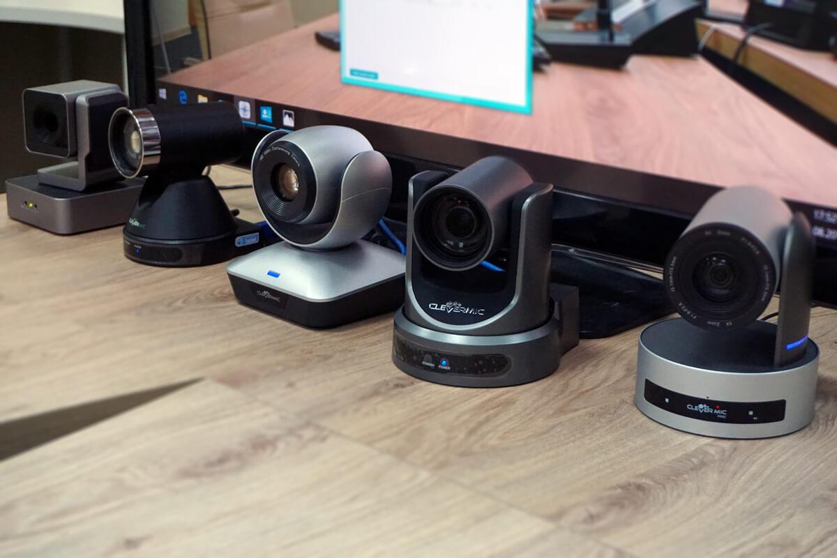 TrueConf Weathervane поддерживает работу с 5-ю PTZ-камерами