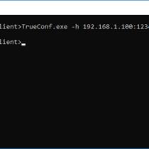Запуск TrueConf для Windows с параметрами командной строки