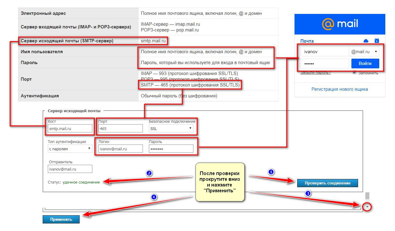 Как настроить рассылку писем с TrueConf Server 5