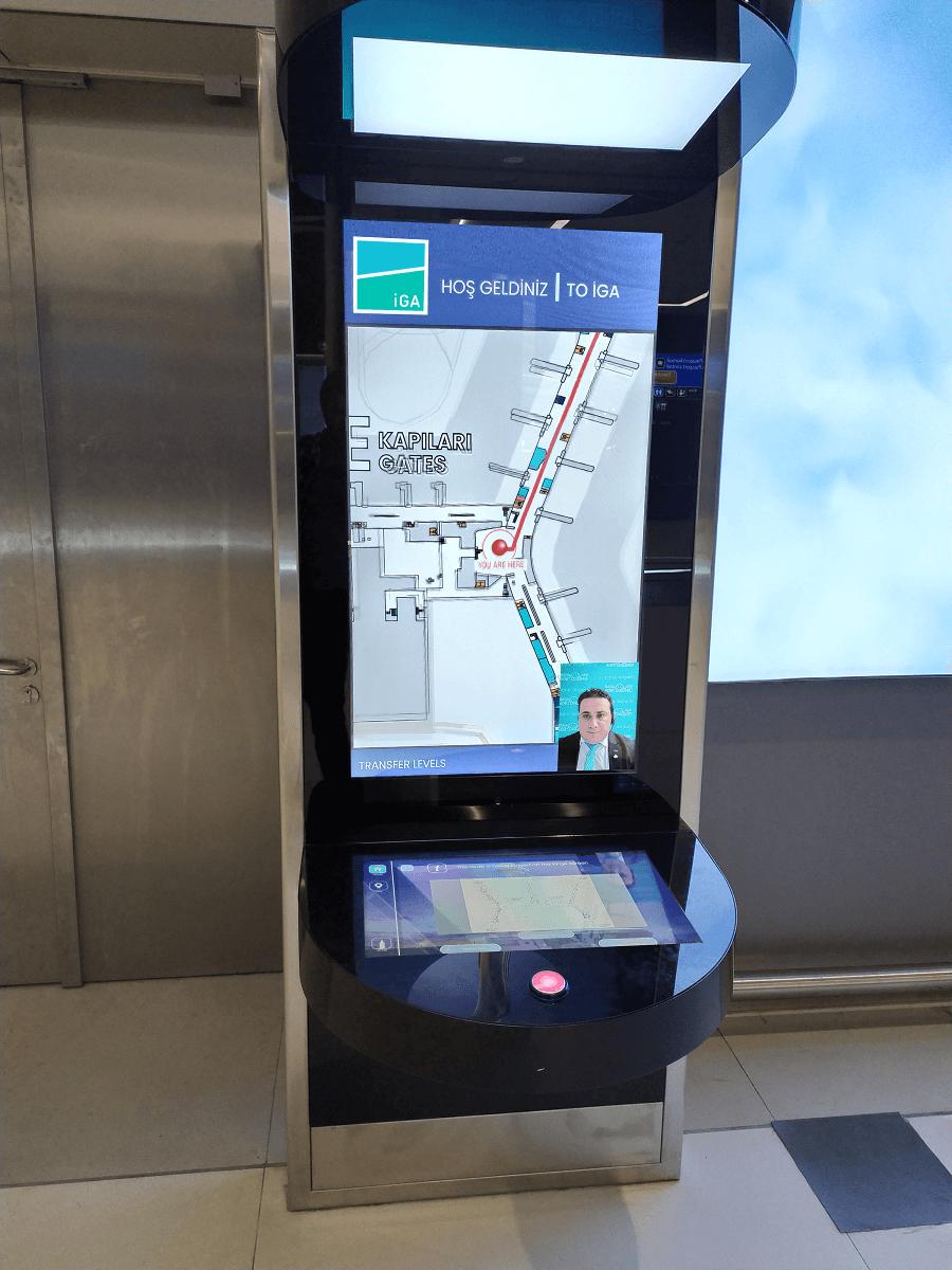 Дистанционное обслуживание лицом к лицу: TrueConf Kiosk в новом аэропорту Стамбула 1