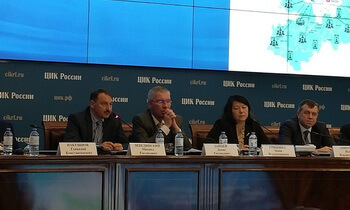 Михаил Лебединский рассказал о системе видеоконференцсвязи с избирательными комиссиями 47 региона 1