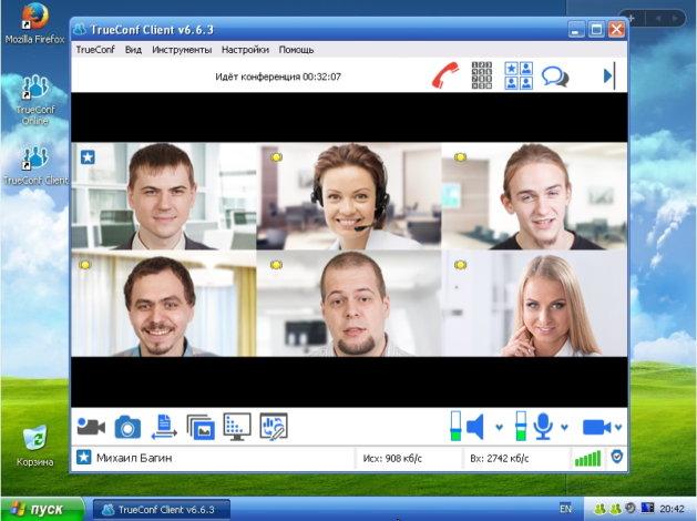 TrueConf Client Windows XP