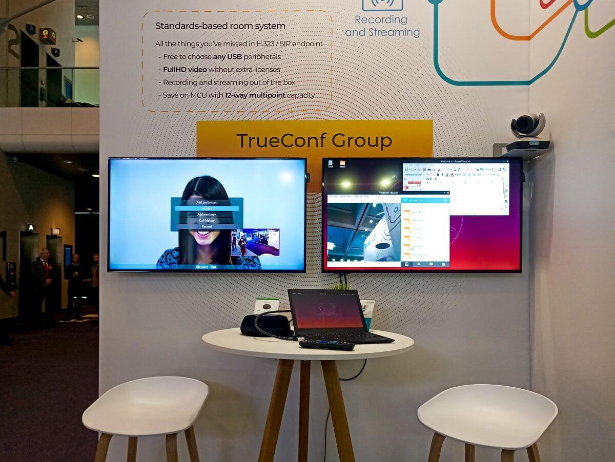TrueConf представил новые решения для совместной работы на ISE 2020 7