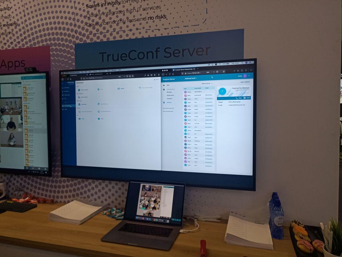 TrueConf представил новые решения для совместной работы на ISE 2020 8