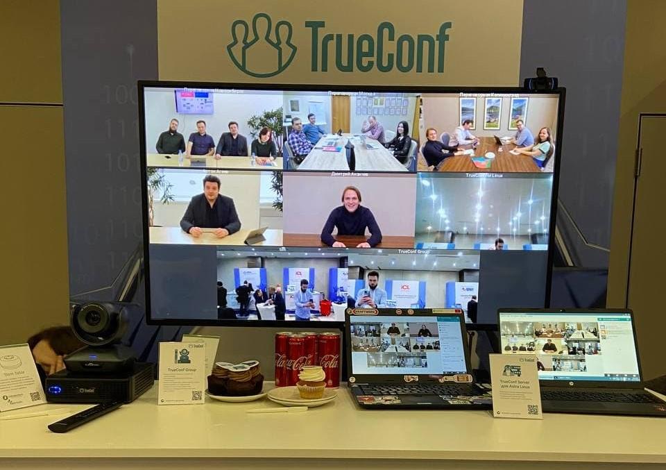 TrueConf принял участие в конференции Astra Linux о цифровой трансформации в образовании 3